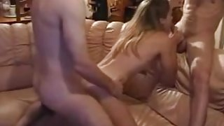 Amateur Cuckold Wife Dp Anal Gangbang Double Penetration Friends