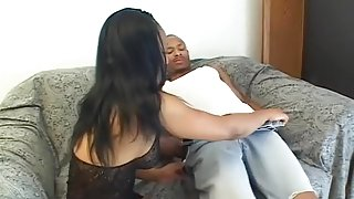 Hottest pornstar Pebbles Stone in exotic anal, black and ebony sex movie
