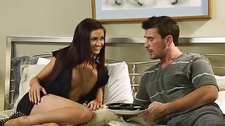 Hot and wild porn sweetheart gets fucked Kendall Karson in nasty and hot orgasm
