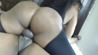 Ebony cheating with neighbour - see more of this @ sweetmilfcams [dot] com