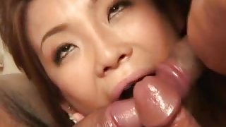 Rui Horie loves cock and sperm