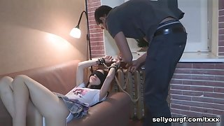 Erick Lewis & Bob & Christi in Interracial Sex Revenge - SellYourGF