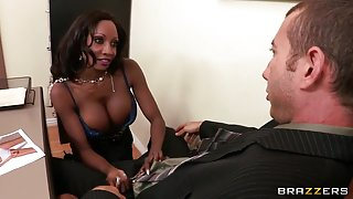 Big Tits at Work: Give Me Your Breast Offer. Diamond Jackson, Jordan Ash