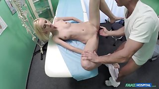 Jenny in Beautiful squirting blondes migraine cured by my cock - FakeHospital