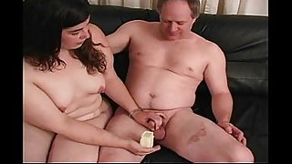 Fat Neighbor MILF Gives A Hanfjob