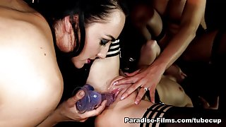 Chloe Lovette & Candy Sexton & Faye Taylor in Dark, Rough And Gorgeous Bitches - Paradise-Films