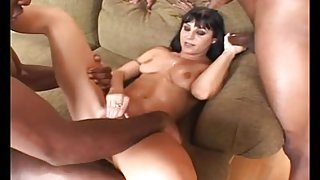 Ariana Jollee Loves Black Cocks and Creampies