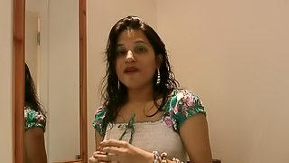 Amateur footage with Indian girl