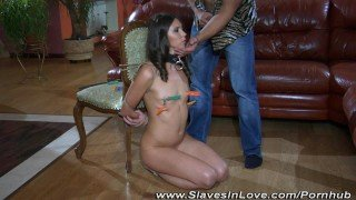 Girlfriend tortured and humiliated.