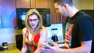 Classy buxomy latino mature lady Cory Chase performing in incredible masturantion