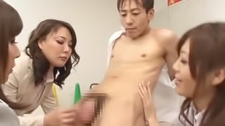 Hinata Komine takes a hard cock in her tight asshole