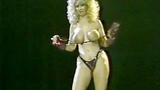 Becky Savage, Busty Belle, Candy Samples in vintage sex movie