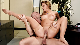 Cherie Deville & Johnny Sins in Getting Laid Off - Brazzers