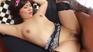 Stunning Asian Babe with a Hot Ass Gets Fucked In Her Sexiest Lingerie