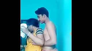Young boy with cute aunty part-1