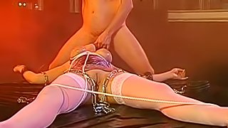 Cock sucking sluts in dirty porn spectacle