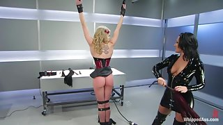 Sarah Jane Ceylon and Sandra Romain in Whippedass Video