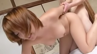 Reiko Kagami gets her juicy pussy fucked every which way