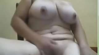 I'm touching my curves in amateur masterbating vid