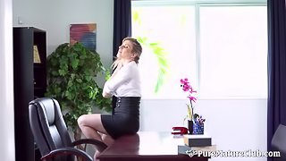 Cory Chase in dirty milf boss anal
