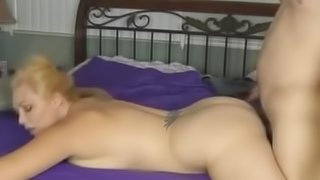 Massage and fucking on the bed.