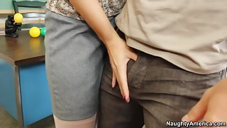 Charlee Chase & Johnny Castle in My First Sex Teacher