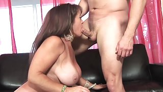 Anita Cannibal is making a wonderful titjob