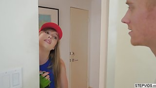 Dolly Leigh gets naughty with her stepbro