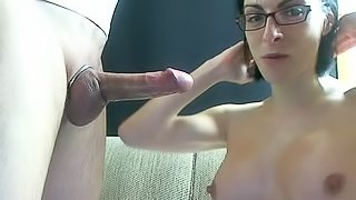 Hot French Couple Deepthroat And Anal On Cam