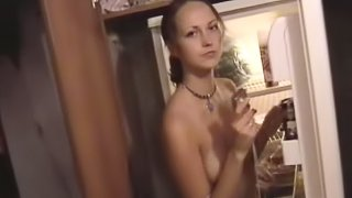 Hot Russian Amateur Couple Get Erotic At Homemade Video.