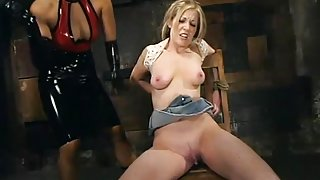 DragonLily and Haley Scott in Whippedass Video