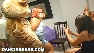 DANCING BEAR - Girls Going Wild At This Crazy CFNM House Party