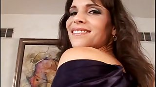 Super Hot MILF Gets In The Living Room
