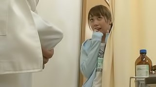 Shy Japanese girl gets her tight and hot pussy fucked deep