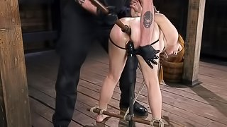 Ginger lady is all about hard anal penetration and total submission