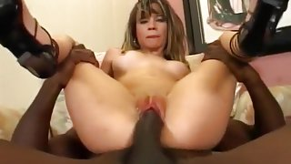 Blond Lilly Gets Creamed In Her Wee Ass