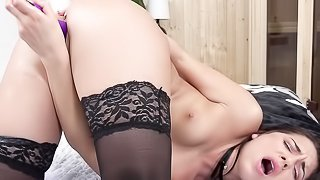 Russian small tits wet and puffy anal