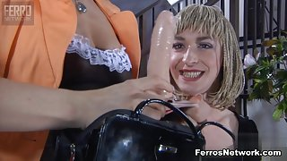 StraponSissies Video: Susanna and Austin A