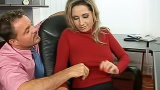 Office Anal and Vaginal Ecstasy For Busty Secretary Daria Glower
