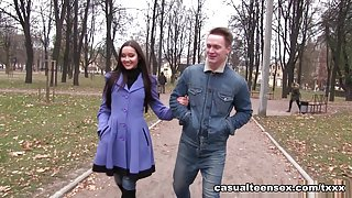 Brian & Aziza in Love For Ballet And Sex - CasualTeenSex
