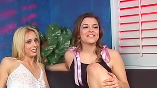 Marvelous threeway with Katie Thomas, Kelly Wells and Sledgehammer