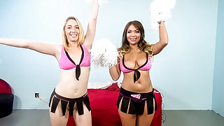Cassidy Banks & Zoey Parker in Pom Porn Girls Cassidy Banks And Zoe Parker - ImmoralLive