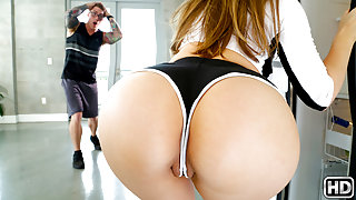 Lena Paul & Nathan Red in Caught In The Shower - BigNaturals