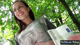Sexy Eurobabe Antonia Sainz picked up and screwed hard