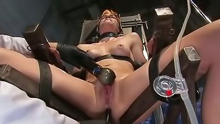 Device bondage and some pussy pleasures for Renee