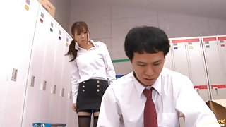 Saki Ninomiya Hot Japanese teacher has raunchy sex