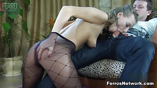 PantyhoseLine Movie: Barbara and Bertram