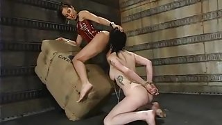 Isis Love and Moxxie Maddron in Whippedass Video