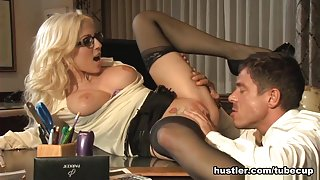 Christie Stevens in Secretary's Day #6 - Hustler