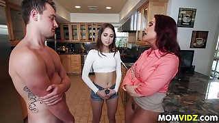 Stepmom Janet Mason frames Riley Reid for sex